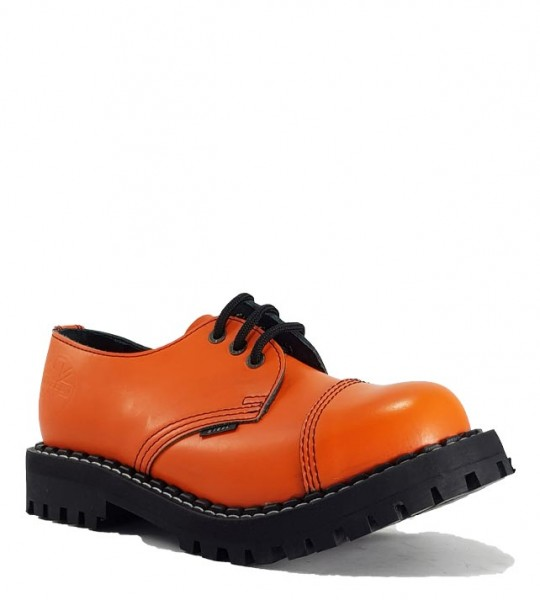 Steel Shoes 3 Eyelets Orange