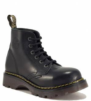 Steel Boots 6 Eyelets Black Air