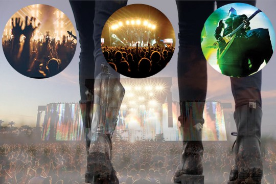 Steel Boots in Festivals around the world.